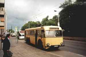Trolleybus of the German type SSW-DB 45/47