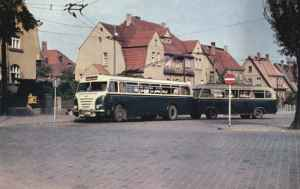 Trolleybus of the GDR type LOWA W 602a