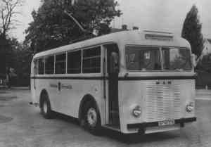 Trolleybus of the German type MPE I