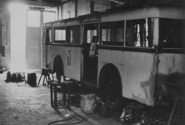 Maintenance problems at the trolleybuses